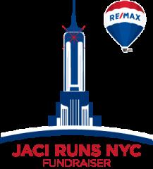 Jaci Runs NYC Fundraiser registration logo