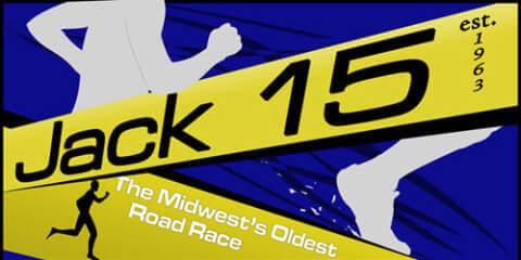 Jack 15 Road Race registration logo