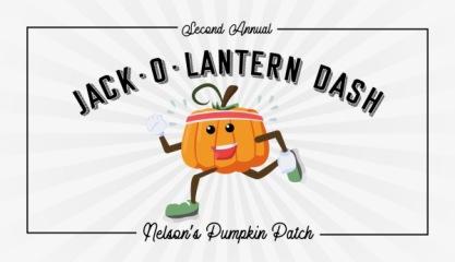 Jack-O-Lantern Dash 5k registration logo