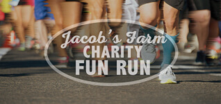 Jacobs Farm Charity Fun Run registration logo