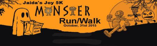 Jaida's Joy 5K Monster Run/Walk registration logo