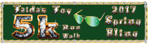 Jaida's Joy Spring Bling 5K Run/Walk registration logo
