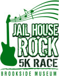 Jailhouse Rock 5k Race registration logo