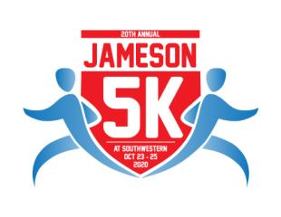 Jameson VIRTUAL 5K at Southwestern registration logo
