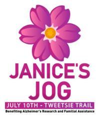 Janice's Jog registration logo