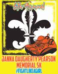 Janna Daugherty Pearson Memorial 5K & 1 Mile Fun Run registration logo