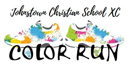 JCS Color Run 2021 registration logo