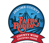 Jerome County Fair Rodeo registration logo