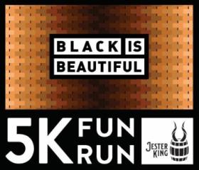 Jester King Black is Beautiful 5K Fun Run registration logo