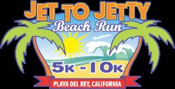 Jet To Jetty Beach Run registration logo