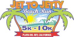 Jet To Jetty Beach Run registration logo