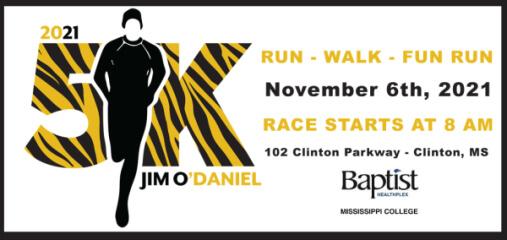 Jim O'Daniel 5K registration logo