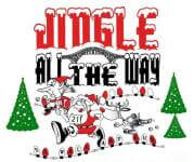 JINGLE ALL THE WAY 5K registration logo