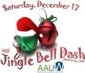 Jingle Bell Dash 5k Run/Walk & Kids Dash to Santa registration logo