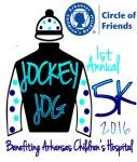 Jockey Jog for ACH registration logo