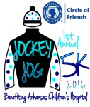 Jockey Jog for ACH registration logo