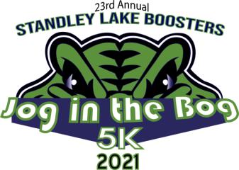 Jog in the Bog 5K registration logo