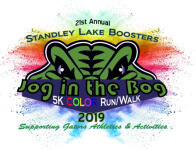 Jog in the Bog - Standley Lake High School Boosters registration logo