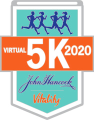 John Hancock Vitality Virtual 5K registration logo