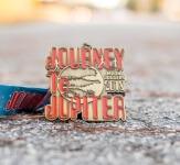 Journey to Jupiter Running & Walking Challenge registration logo