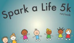 Jumpstart Spark a Life 5K registration logo