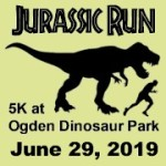 Jurassic Run 5K registration logo