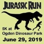 Jurassic Run 5K registration logo