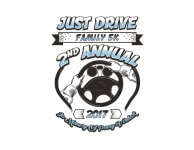 Just Drive 5K registration logo