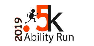Just For Kids .5K Ability Run registration logo