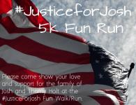 Justice for Josh 5K registration logo