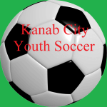 Kanab City Youth Soccer registration logo