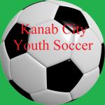Kanab City Youth Soccer registration logo