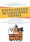 Kappa Delta's Halloween Hustle 5K registration logo