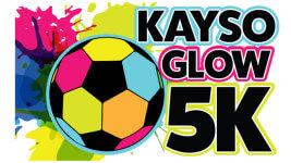 Kayso Glow 5K registration logo
