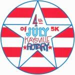 Kaysville Rotary 4th of July 5K registration logo