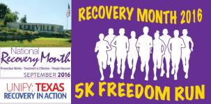 Kerrville 5K Freedom Run registration logo