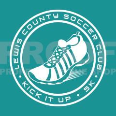kick it up - 5k &1 mile walk/run registration logo