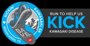 Kickin' Kawasaki 5K - Woodlands, TX registration logo