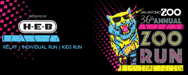 Kids Zoo Run registration logo