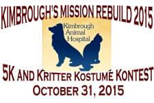 Kimbrough 5K and Kritter Kostume Kontest registration logo