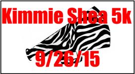 Kimmie Shea 5k registration logo
