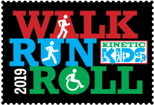 Kinetic Kids Walk.Run.Roll registration logo