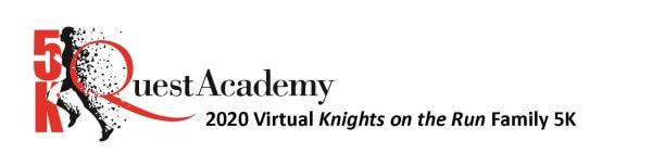 Knights on the Run Family Virtual 5K registration logo