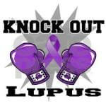 Knock out Lupus- Lupus Awarenss Walk registration logo