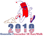 Knoxville Firecracker 5k Run/Walk registration logo
