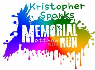Kristopher Sparks Memorial 5K & Rainbow Run registration logo