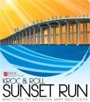 Kroc & Roll Sunset Run registration logo