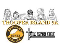 KSP Trooper Island and Sligo Baptist Church 5k in LEspirit registration logo