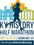 KY History Half Marathon, 10k and 5k registration logo