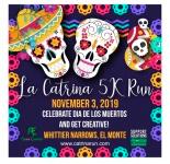 La Catrina 5k Run/Walk registration logo